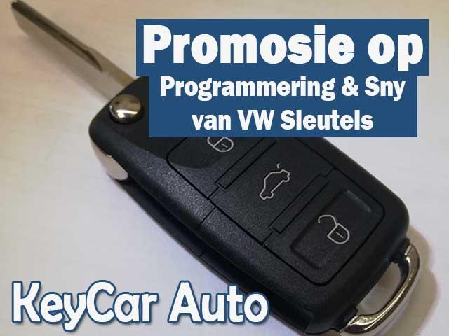 Promosie op Programmering en Sny van Kar Sleutels