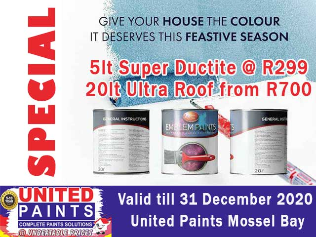 Roof Paint Special Offer in Mossel Bay
