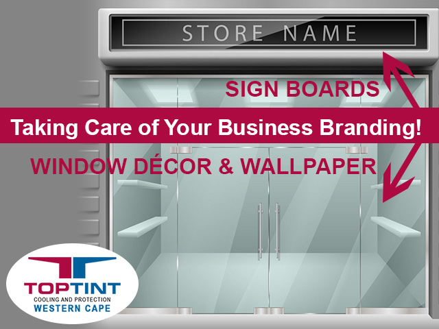 Sign Boards and Custom Window Décor in George