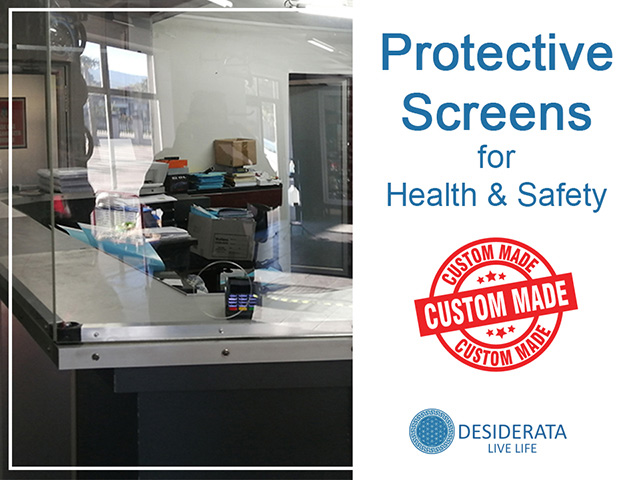 Standard and Custom Made Protective Screens, South Africa