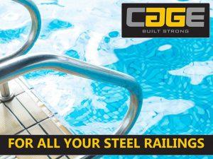 Swimming Pool Railings in George