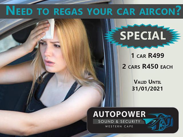 Car Aircon Regas Special in George