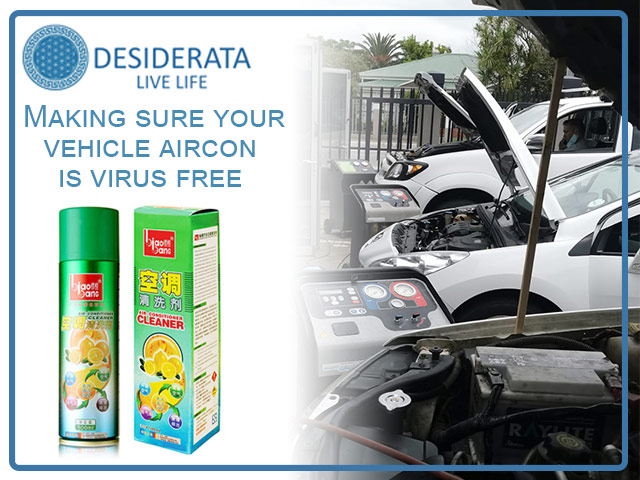 Sanitize Your Vehicle Aircon in George