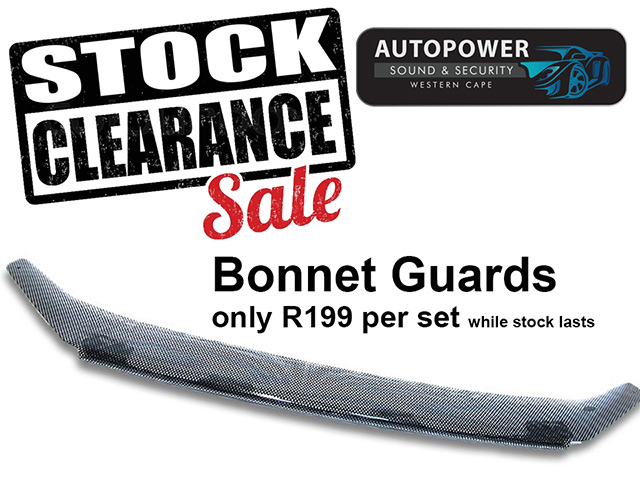 Sale on Bonnet Guards in George
