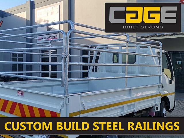Custom Steel Vehicle Railings in George