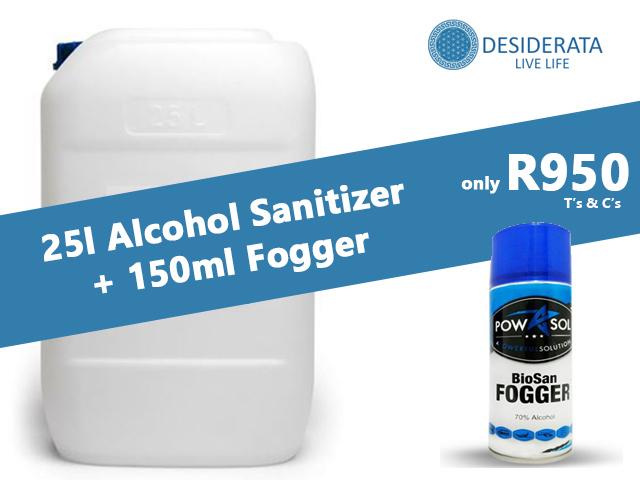 25 Liter Hand Sanitizer in George