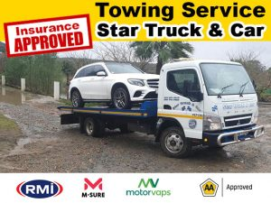 Garden Route Insurance Approved Vehicle Towing Services