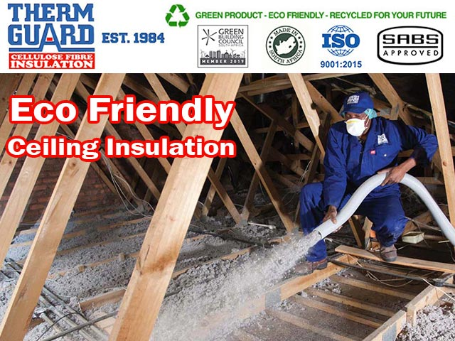Eco Friendly Ceiling Insulation Solution in George