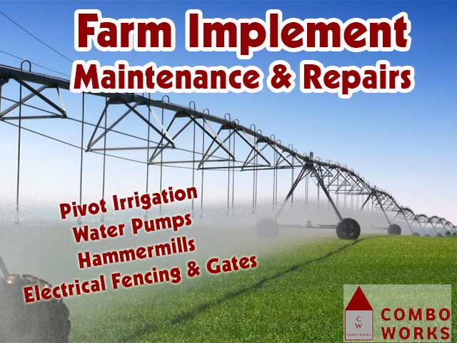 Farm Implement Maintenance and Repairs