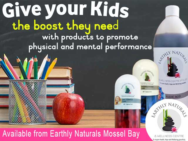 Natural Medicine for Kids to Promote Physical and Mental Performance available in Mossel Bay
