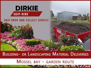 Building- or Landscaping Material Deliveries Mossel Bay