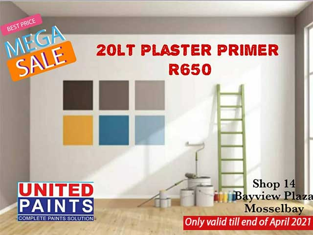 Mossel Bay Mega Sale on Plaster Primer