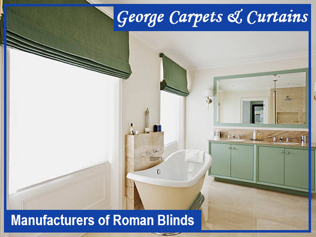 Manufacturers of Roman Blinds in George