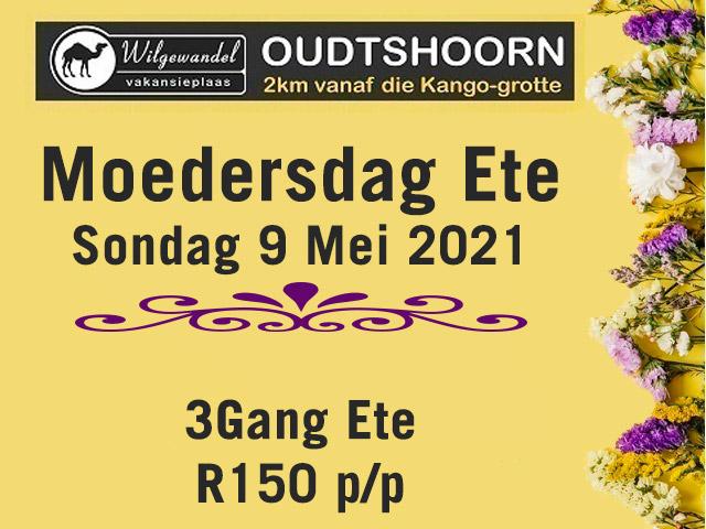 Moedersdag Ete By Wilgewandel, Oudtshoorn