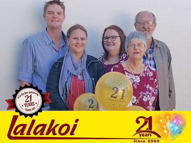 Lalakoi Celebrating 21 Years
