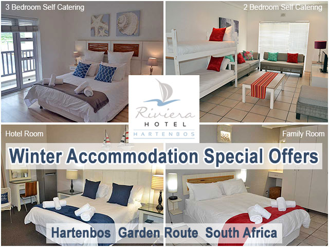 Hartenbos Winter Special on Accommodation
