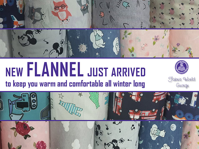 Keep Warm With Flannel Fabrics From Fabric World George