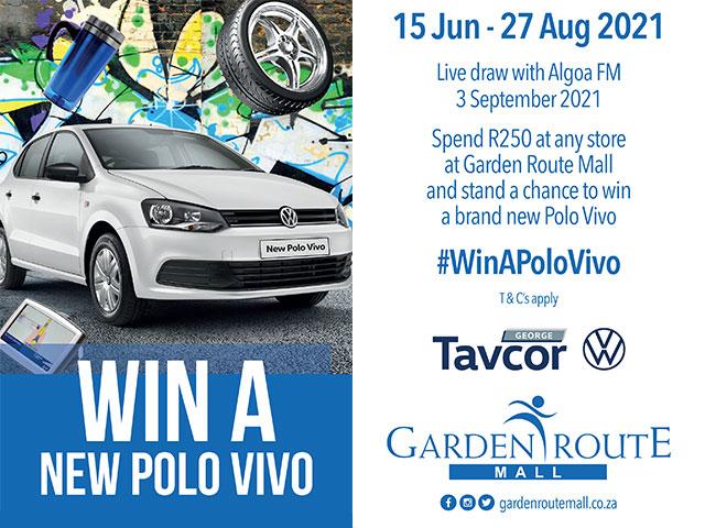 Win a Polo Vivo at the Garden Route Mall