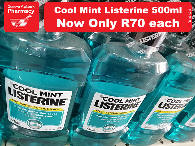 Listerine Mouthwash Special in George