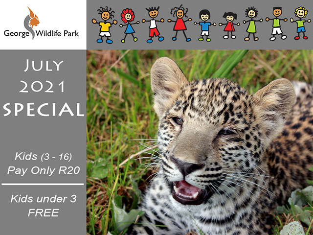 July Special at The George Wildlife Park