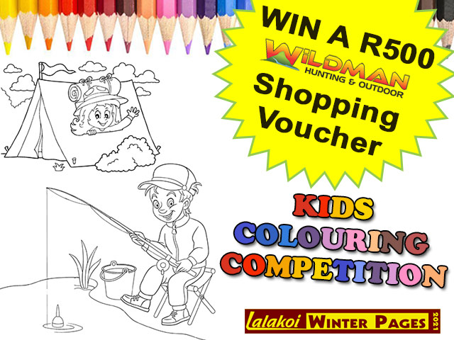 Wildman George Kids Colouring Competition