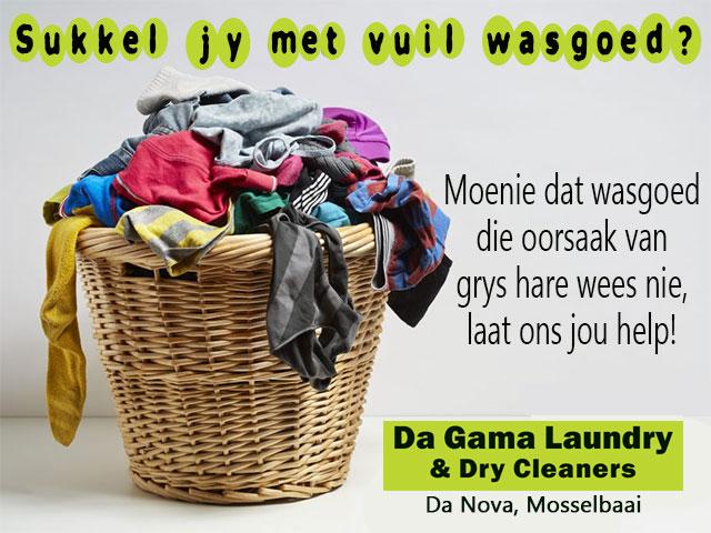 Sukkel jy met vuil wasgoed?
