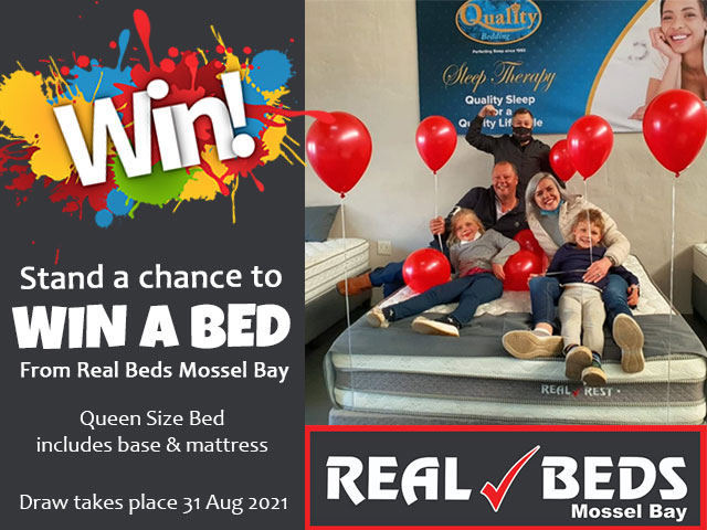 Win a Bed from Real Beds Mossel Bay