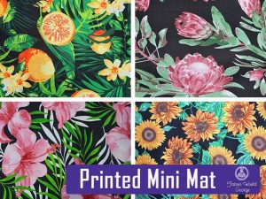 Beautiful Printed Mini Mat at Fabric World George