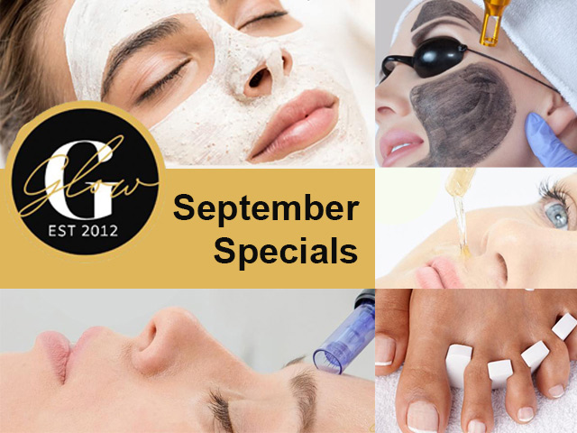 September Beauty Specials at Glow George