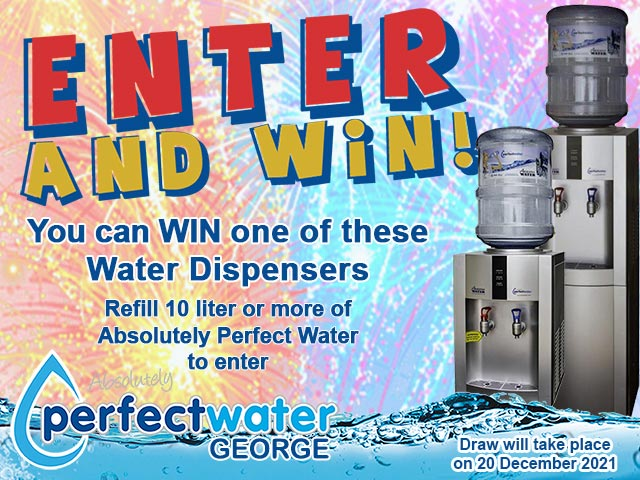 Win a Water Dispenser with Perfect Water George
