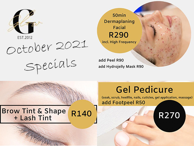 October Beauty Salon Specials in George